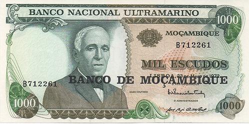 Mozambique, 1972, 1000 Escudos