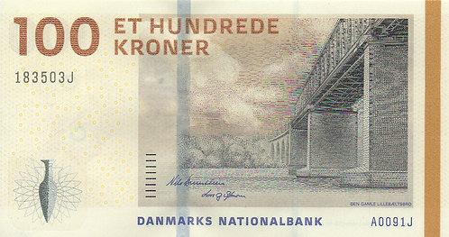 Denmark, 2010, 100 Kroner