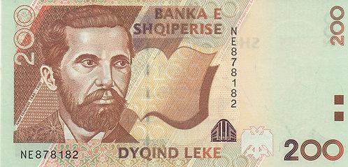 Albania, 2001, 200 Leke