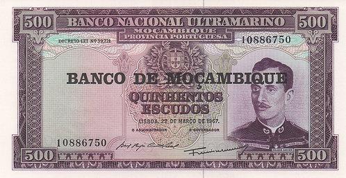Mozambique, 1967, 500 Escudos