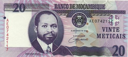 Mozambique, 2006, 20 Meticais