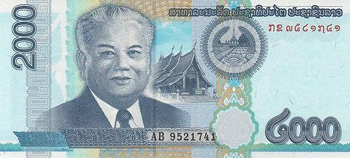 Laos, 2011, 2000 Kip