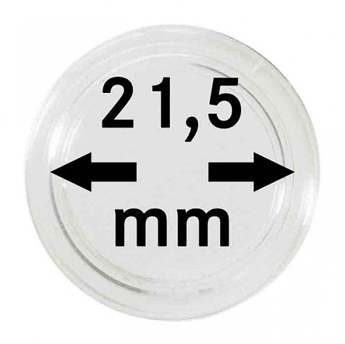 COIN CAPSULES 21.5 MM Ø INNER DIAMETER
