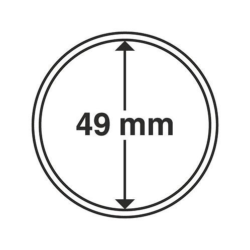 Coin Capsules, 49MM Ø inner diameter