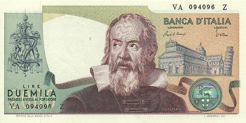 Italy, 1983, 2000 Lire