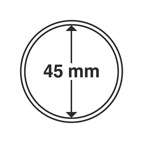 Coin Capsules, 45MM Ø inner diameter