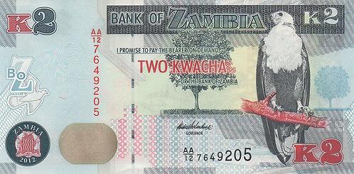 Zambia, 2013, K2 Kwacha