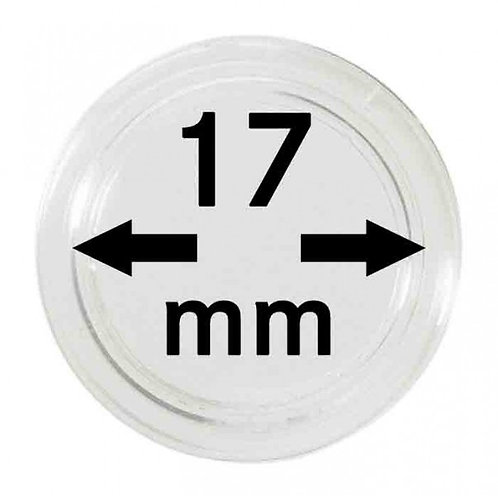 COIN CAPSULES 17 MM Ø INNER DIAMETER