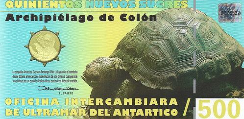 Galapagos, 2009, 500 Nuevos, Polymer