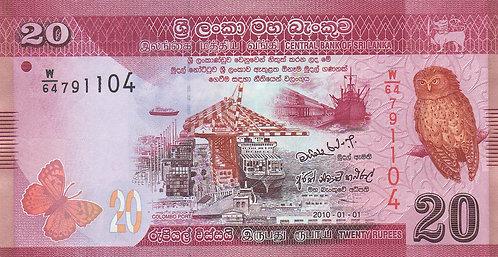 Sri Lanka, 2010, 20 Rupees