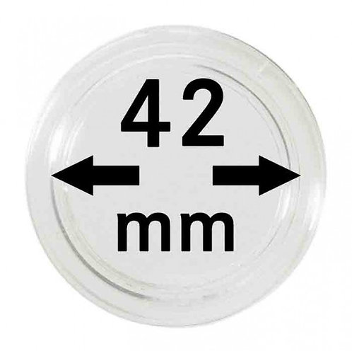 COIN CAPSULES 42 MM Ø INNER DIAMETER