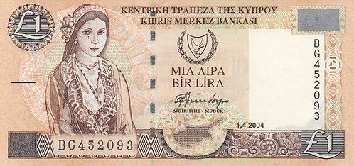 Cyprus, 2004, 1 Pound