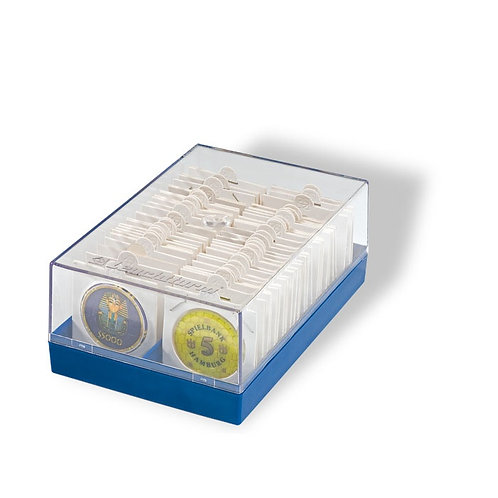 Plastic Box Holder for 100 Coins