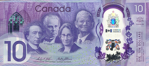 Canada, 2017, 10 Dollars, Commemorative, Polymer