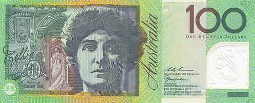 Australia, 1995, 100 Dollars, Polymer