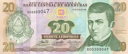 Honduras, 2006, 20 Lempiras