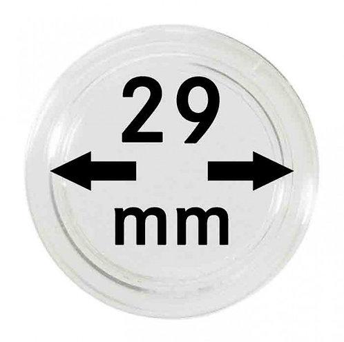 COIN CAPSULES 29 MM Ø INNER DIAMETER
