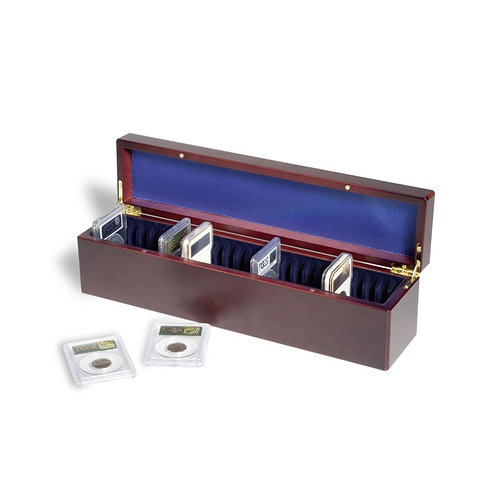 Coin Case for 25 Certified Coin Holders (Slabs)