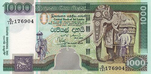 Sri Lanka, 2004, 1000 Rupees