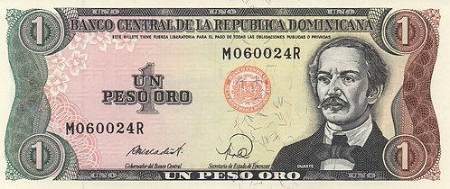 Dominican Republic, 1988, 1 Peso Oro