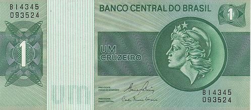 Brazil, 1980, 1 Cruzeiros