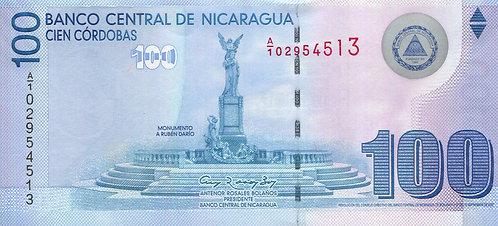 Nicaragua, 2009, 100 Cordobas