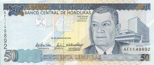 Honduras, 2004, 50 Lempiras