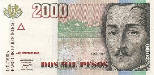 Colombia, 2005, 2000 Pesos
