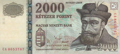 Hungary, 2002, 2000 Forint