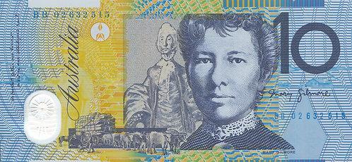 Australia, 10 Dollars, Polymer