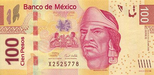 Mexico, 2009, 100 Pesos