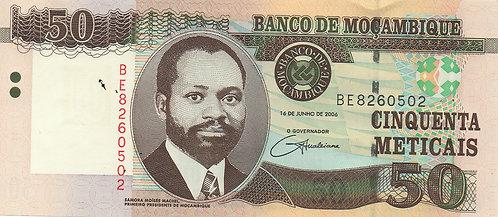 Mozambique, 2006, 50 Meticais