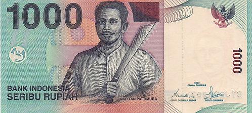Indonesia, 2000, 1000 Rupiah