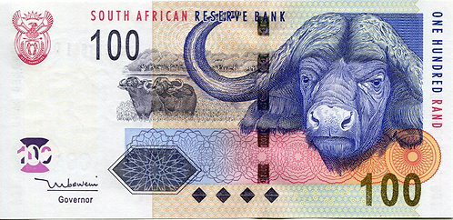 South Africa, 2005, 100 Rand