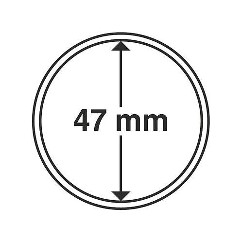 Coin Capsules, 47MM Ø inner diameter