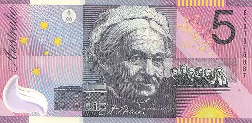 Australia, 2001, 5 Dollars, Commemorative, Sign 4, Polymer