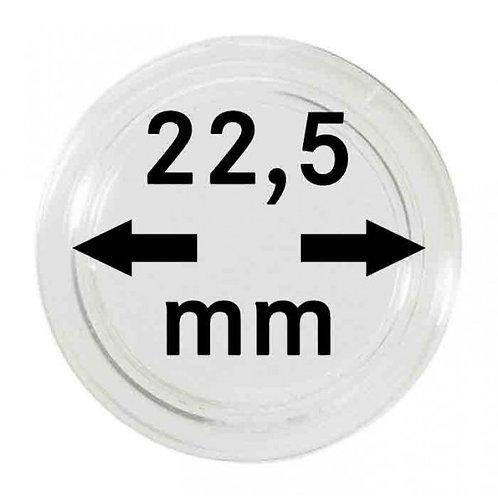 COIN CAPSULES 22.5 MM Ø INNER DIAMETER
