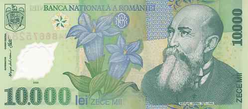 Romania, 2000, 10000 Lei, Polymer