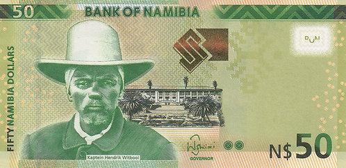 Namibia, 2012, 50 Namibia Dollars