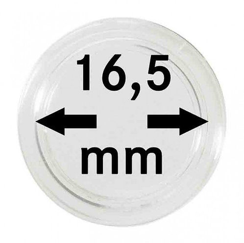 COIN CAPSULES 16.5 MM Ø INNER DIAMETER