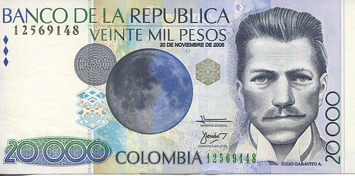 Colombia, 2006, 20,000 Mil Pesos