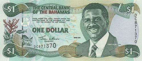 Bahamas, 2001, 1 Dollar