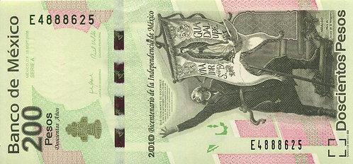 Mexico, 2009, 200 Pesos