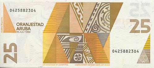 Aruba, 1993, 25 Florin