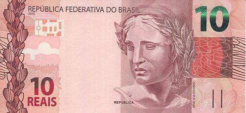 Brazil, 2010, 10 Reais