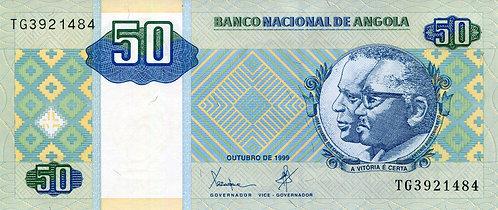 Angola, 1999, 50 Kwanzas