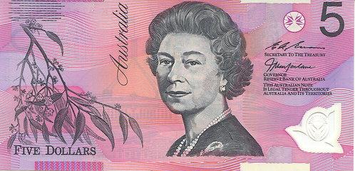 Australia, 1997, 5 Dollars, Polymer, Commemorative Historic Return of Hong Kong
