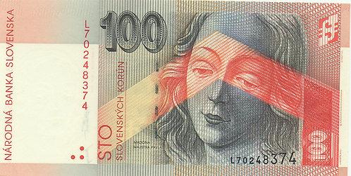 Slovakia, 1999, 100 Korun