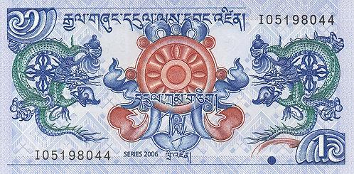 Bhutan, 2006, 1 Ngultrum