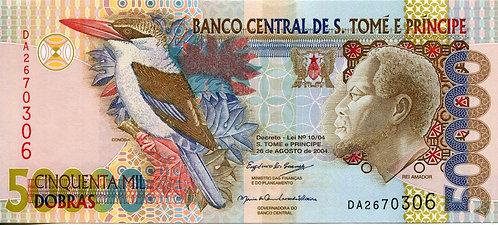 S. Thomas & Prince, 2004, 50,000 Dobras